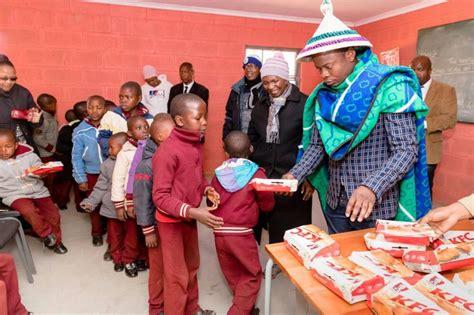 prophet bushiri donates zar million  child development home  lesotho  maravi post