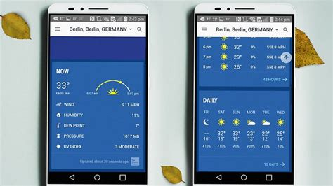 weather channel app android 10 best weather apps and widgets for android androidpit