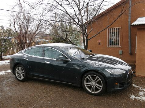 tesla model s battery how much range loss for electric car time