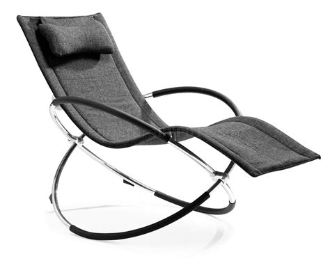 chaise microfibre black microfiber modern chaise lounger with chromed steel