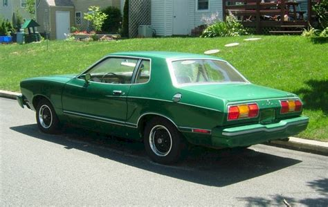 77 Mustang For Sale by Medium Emerald Glow Green 1977 Ford Mustang Ii Coupe