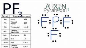 Pf3 Molecular Geometry    Shape And Bond Angles