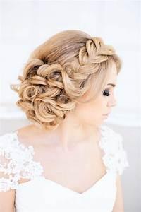 Coiffure Femme Pour Mariage : coiffure mariage tresse 35 photos merveilleuses pour vous ~ Dode.kayakingforconservation.com Idées de Décoration