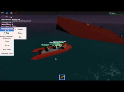 Sinking Ship Simulator Roblox by Roblox Sinking Ship Simulator