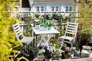 Schöner Wohnen Tischdeko : den balkon gestalten ideen zum einrichten sch ner wohnen ~ Markanthonyermac.com Haus und Dekorationen