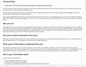 Privacy Policy Template Australia Free GDPR How To Create Best Practice Privacy Notices With Examples Econsultancy