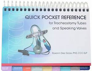 Quick Pocket Reference For Tracheostomy Tubes And Speaking