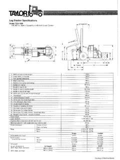 Taylor TLS-1000 Specifications CraneMarket