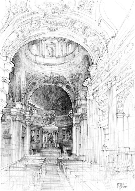 baroque architecture sketch  paintingvalleycom
