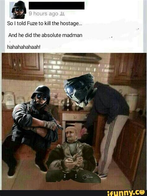 Fuze Memes - fuze rainbow six memes pictures to pin on pinterest thepinsta