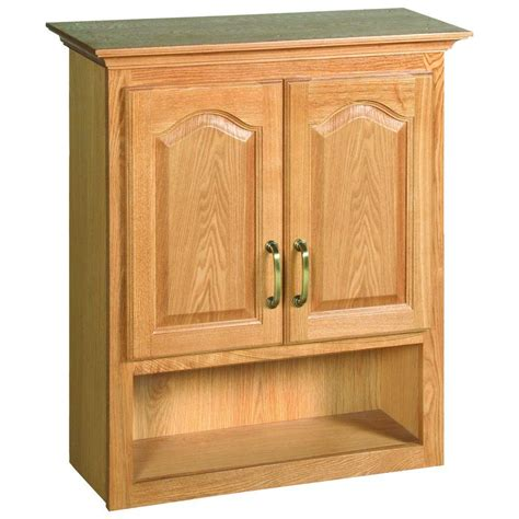 Home Depot Oak Bathroom Cabinet by Design House Richland 26 3 4 In W X 30 In H X 10 3 8 In