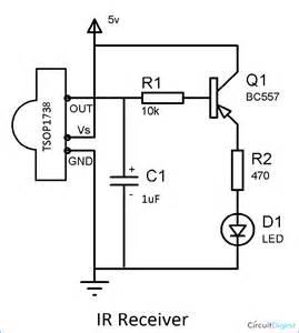 Ir Receiver Circuit Diagram