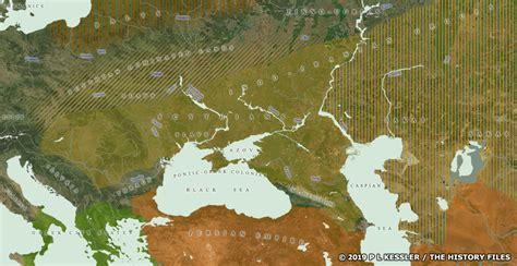 map   scythian lands   bc