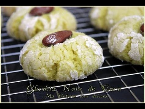 cuisine marocaine gateaux recette de ghribia ghribiya noix de coco gateau