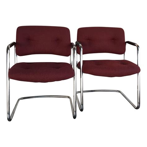 steelcase vintage chrome chair design plus gallery