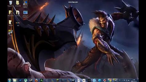 League Of Draven Wallpaper League Of Legends Animated Wallpapers Youtube