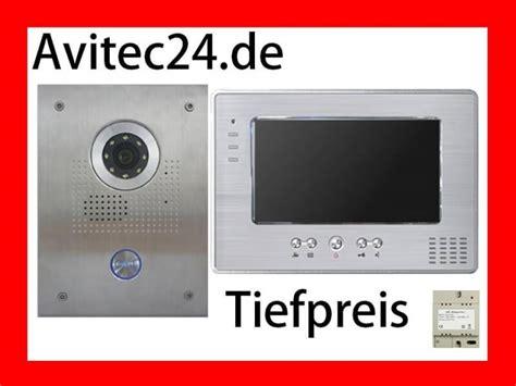 kamera mit monitor edelstahl t 252 rsprechanlage mit 7 zoll monitor kamera