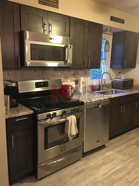 kitchen cabinet reviews amp testimonials 579 graystone shaker 4