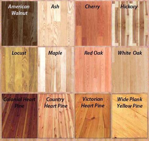 wood samples   Knox Hardwood
