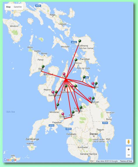 cokaliong ferry   ships  routes