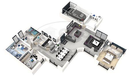 plan maison moderne 3d plan moderne 3d maison classique maison moderne