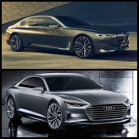 Photo Comparison Audi Prologue Concept Vs Bmw Vision