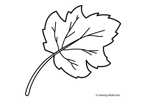 Coloring Leaves by Trees And Leaves Coloring Pages Coloring Home