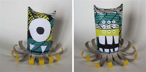 monstres rouleau papier toilette papier de magazine feutre papier toilette