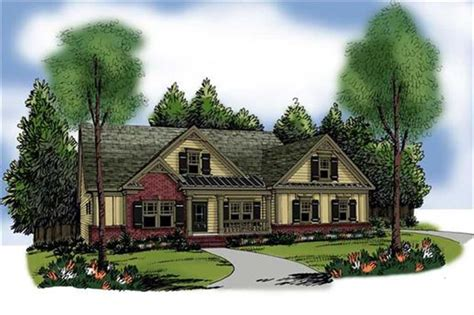 craftsman home   bdrms  sq ft house plan