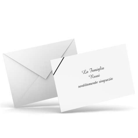 Testo Per Condoglianze by Ringraziamento Con Testo Personalizzato Disegno Con