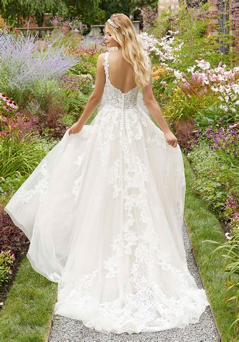 paoletta wedding dress style  morilee