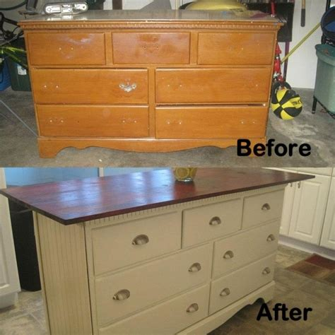 dresser kitchen island top 25 ideas about dresser kitchen island on