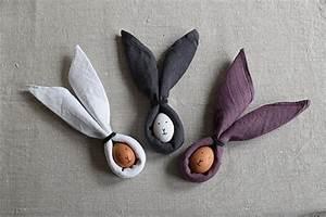 Pliage Serviette Lapin Simple : p ques z ro d chet marie h ~ Melissatoandfro.com Idées de Décoration