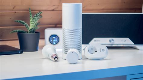 vier smart home systeme fuer amazon echoalexa  der
