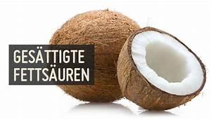 Gesättigte fettsäuren kokosöl