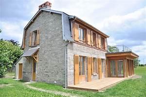 Construction Maison En Pierre : r habilitation d 39 une maison en pierre de saint cast ~ Melissatoandfro.com Idées de Décoration