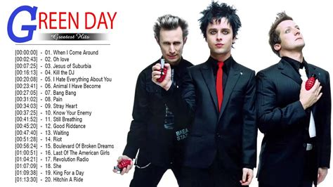 green day best of green day greatest hits playlist best songs of greenday