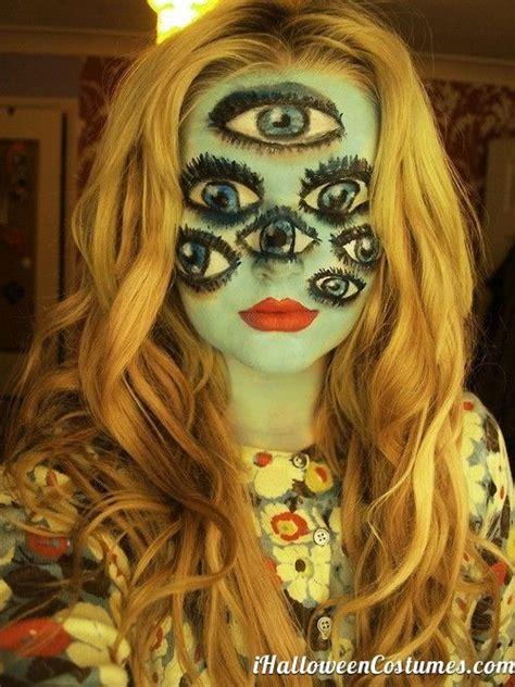 30 Best Creepyscary Halloween Makeup Ideas 2015 For Girls