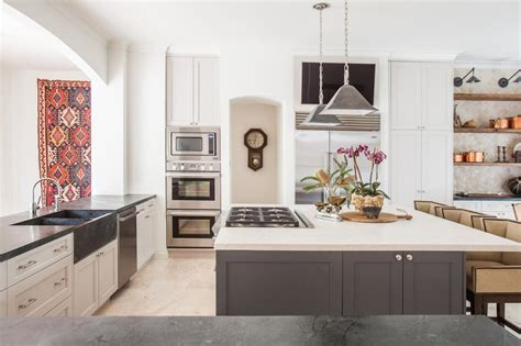 trendy two toned kitchen ideas and hgtv s decorating design hgtv