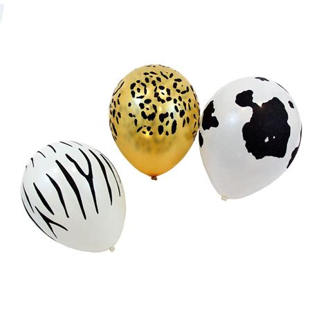 Cowhide Balloons by Cow Print Balloons Animal Print Decorations