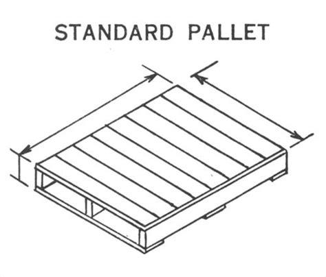 pallet dimensions standard ideas pallets designs
