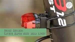 Cateye Rear Light Review Cateye Rapid Mini Rear Light Review Youtube