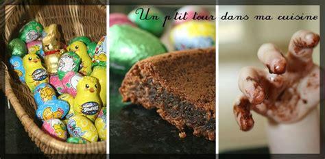 dessert avec chocolat de paques p g 226 teau au chocolat au lait avec les restes de chocolats de p 226 ques un p tour dans ma
