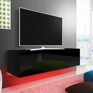 Oxford mobile porta tv moderno con luci a led, portatv per