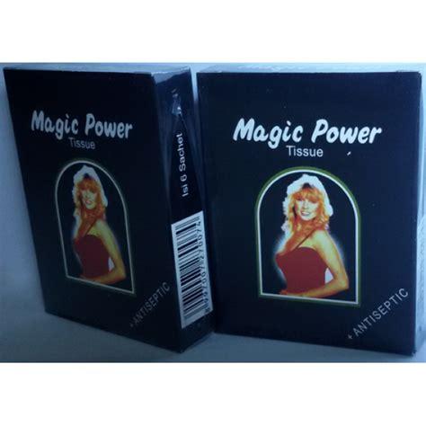 jadi pria perkasa dengan tissue magic power
