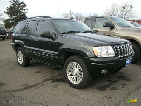 black jeep cherokee 2003 jeep grand cherokee black 200 interior and