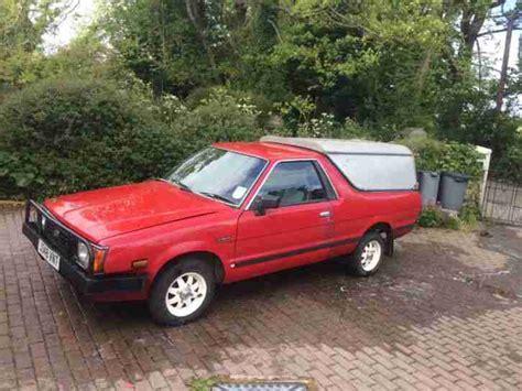 subaru mv brat pickup project car  sale