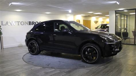 porsche macan all black porsche macan s black with black 2016 lawton brook youtube