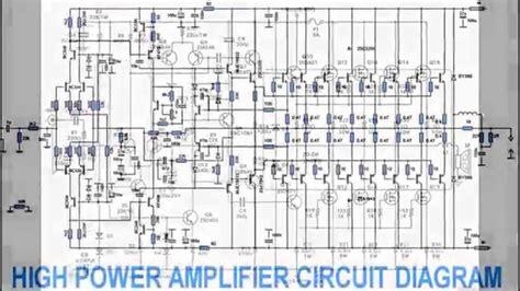 power amplifier design power amplifier design youtube