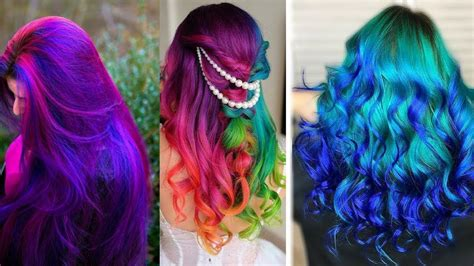 Cool Color Hairstyles by Everyday Creative Diy Hair Color Ideas Highlight